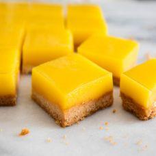 Lemon bars – bánh chanh vàng óng như ánh mặt trời